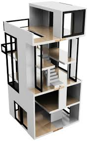 69 best doll house project images on pinterest modern dollhouse