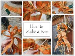 how to make a bow crafts