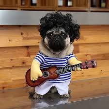 Funny Dog Halloween Costumes Guitar Dog Clothes Dogs Costume Funny Pet Halloween Costume