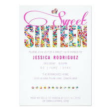 sweet 16 party invitations u2013 invitations 4 u