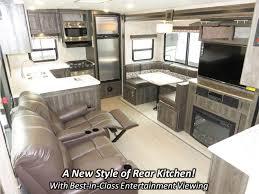 Rear Kitchen Rv Floor Plans 2018 Highland Ridge Rv Open Range Ultra Lite 2804rk Travel Trailer