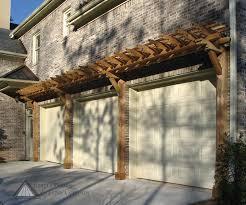 easy plans trellis over garage doors wageuzi