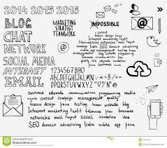 Blank Mind Map by Hand Draw Doodle Sketch Mind Map Blank Flow Chart Stock Photo