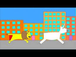 the lion u0026 the unicorn nursery rhyme youtube