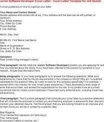 cover letter software developer software developer job