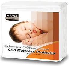 Hypoallergenic Crib Mattress Waterproof Crib Mattress Protector Hypoallergenic