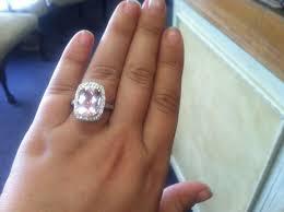 what is morganite my morganite ring weddingbee
