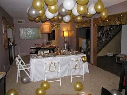Home Party Decoration New Years House Party Ideas