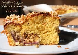 blogs recettes cuisine gâteau moelleux figues miel et amandes amour de cuisine