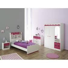 chambre enfant fille lilou chambre enfant décor pin et achat vente chambre