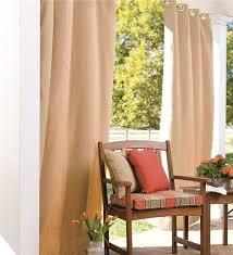 Sunbrella Patio Curtains Sunbrella Grommet Curtain Panel Curtains Plow U0026 Hearth