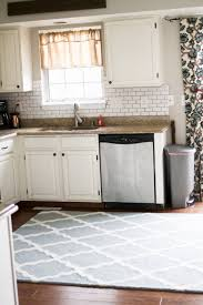 kitchen eye catching vintage runner rugs for your cool kitchen