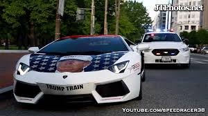 gold and white lamborghini driving the lamborghini trumpventador to the white house youtube