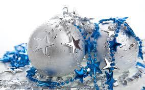 wallpaper silver and blue balls 1280 x 800