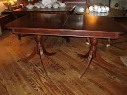 antique mahogany pedestal table antique double pedestal dining table awesome we have this my great