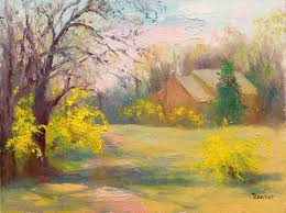 susquehanna valley plein air painters early spring by sharon benner