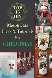 top 15 diy mason jar ideas and tutorials for christmas zoomzee org