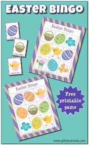 thanksgiving bingo free easter bingo game free printable gift of curiosity