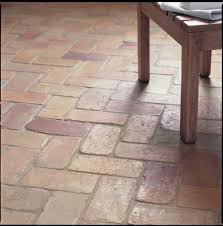 fired earth s lubelska flooring which is reclaimed 19th century
