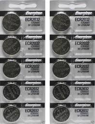 lexus is250 key battery died amazon com energizer cr1632 3 volt lithium coin battery pack of