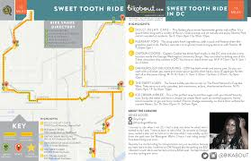 George Washington University Map by Sweet Tooth Ride U2014 Bikabout