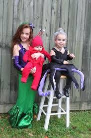 Mermaid Halloween Costumes Baby Mermaid Family Halloween Costume Halloween