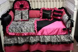 Pink Zebra Crib Bedding Custom Made Silk Pink Zebra Baby Bedding By Bedbugscreations