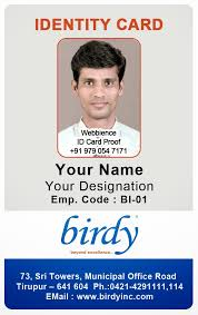 id card coimbatore ph 97905 47171 vertical employee id card