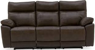 three seater recliner sofa buy vida living positano brown 3 seater recliner sofa online cfs uk