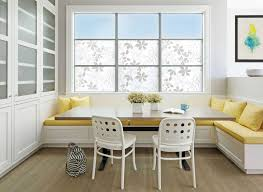 Kitchen Booth Seating Kitchen Transitional Dining Room Design Idea Use Built In Banquette Seating To Save