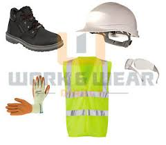 s boots day delivery ppe safety kit boots helmet hi vis vest specs gloves