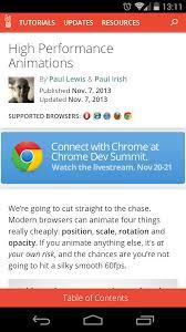 Table Ux Mobile Web Ux Chrome Dev Summit