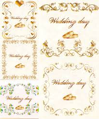 wedding cards designs vector vector graphics