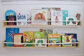 make 2 display style nursery bookshelves for 15 life on waller