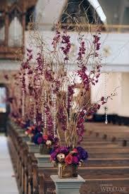 Fall Wedding Aisle Decorations - oranges wedding flowers pinterest weddings and wedding