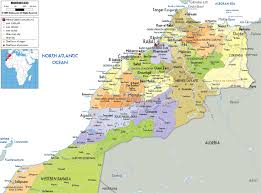Political Map Of Africa by Maps Of Morocco Map Library Maps Of The World