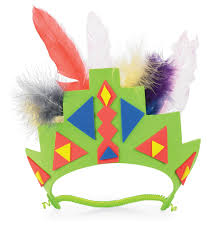 south america headress around the world crafts for kids