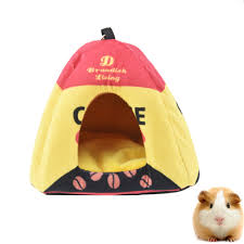 Hamster Bed Cute Hanging Hamster House Bed Hammock Winter Warm Squirrel