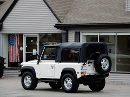 land rover defender convertible 1997 land rover defender 90 soft top copley motorcars
