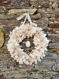 normandy life easter calico rag wreath