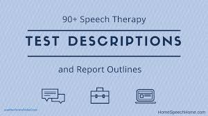test result report template test result report template cool 90 speech therapy test