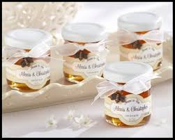 wedding shower favors meant to bee personalized clover honey wedding or bridal shower