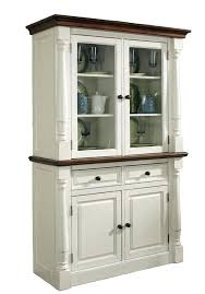 Oak Buffet And Hutch by Home Styles Monarch Buffet And Hutch Oak White Sideboard
