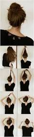 great hairstyle tutorials for long hair elegant bun bouncy