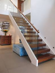 are the stair stringers made from lvl or steel painted white or mdf
