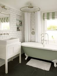london round shower curtain bathroom transitional with white bath