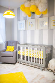 Yellow And Gray Nursery Decor Awesome Yellow Baby Nurseries Tissue Balls Diy Wall And Diy