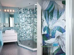 bathroom mirrors blue mosaic bathroom mirror style home design