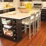 breathtaking powell kitchen island black with kitchen cabinet