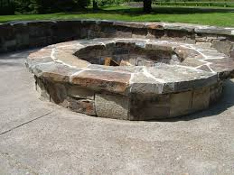 Stone Firepit by Fire Pits Sbi Materials